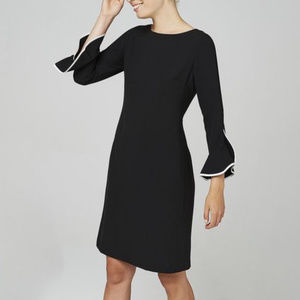 nwt Karl Lagerfeld Paris Tulip Sleeves Dress 6